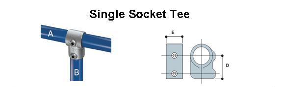 Single Socket Tee