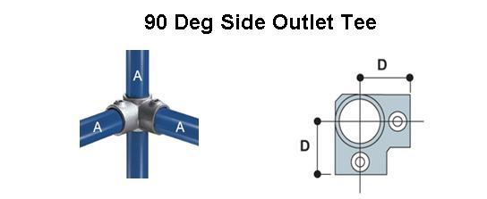 90 Degree Side Outlet Tee
