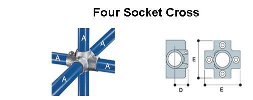 Four Socket Cross