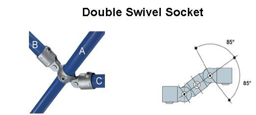 Double Swivel Socket